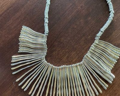 Anthropologie - style Mixed Metal Necklace