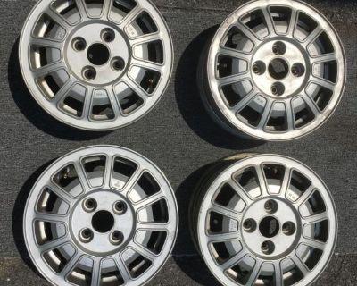 Volkswagen MK1/MK2 OEM 13 inch wheels
