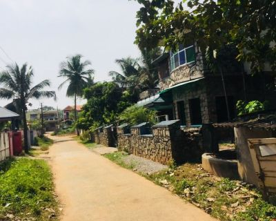 9 cent land with 2100sqft HOUSE near jilla panchayath office, Melamuri-ottapalam, Palakkad