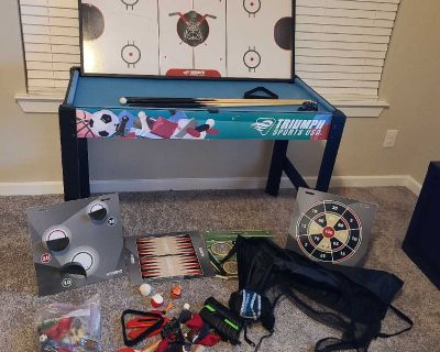 Sports multi game table