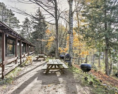 Lakefront Winchester Cabin w/ Deck, Grill & Dock! - Manitowish Waters
