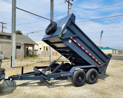 12x4 HD Equipment Dump Trailer