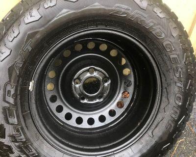 Massachusetts - Steel spare wheel with Bridgestone Dueler AT tire
