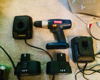 Mismatched drill and batteries and charger