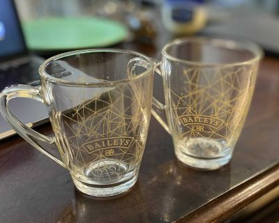 Special Edition Baileys Glass Mugs