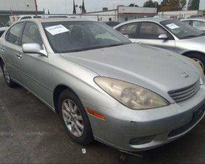 Salvage Silver 2003 Lexus Es 300