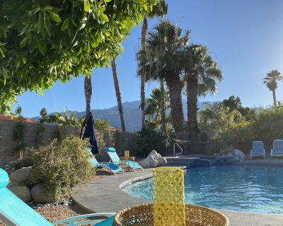 Dreamy Palm Springs Villa with private pool, spa, and magical views (sleeps 8) - Palm Springs
