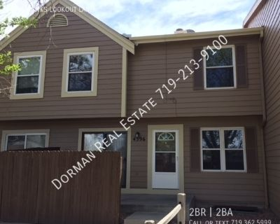 Townhome in gated community close to Ft Carson!