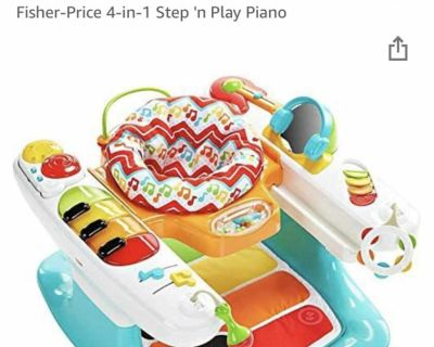 Step and play piano