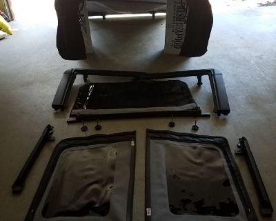 Jeep Wrangler Soft top full kit