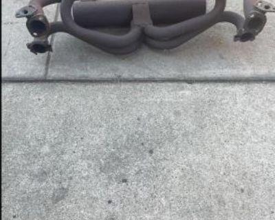 Pea shooter Exhaust