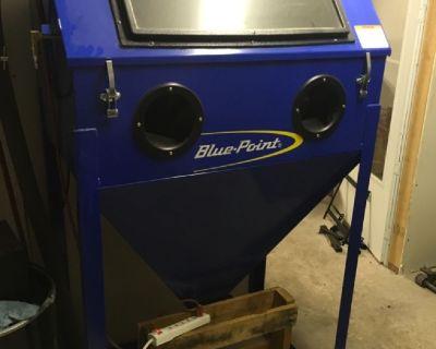 Snap on Compressor, Parts blaster. Powder coating equipment