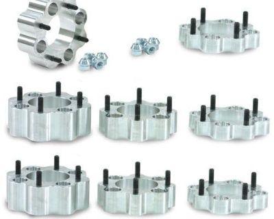 """4 Polaris Range Rzr 2.0"""" Cnc Billet Aluminum Wheel Rim Spacer Spacers Pair 4x156"""