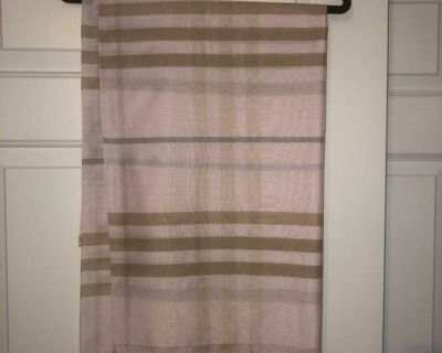 Burberry Style Light Weight Scarf