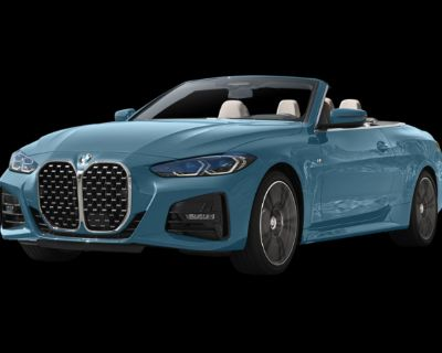 BMW 4 Series 430i Rear Wheel Drive Convertible - In-Stock