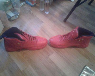 2 pair of Jordan's