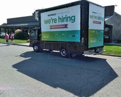 Isuzu Mobile Sign / Billboard Marketing Truck