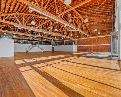 Modern Exposed Brick Multi-use Event, Pop-up, Gala, and Gallery Venue, Los Angeles, CA