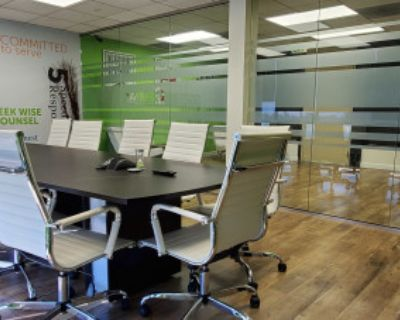 Modern Office with Glass Conference Room, Woodland hills, CA