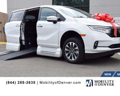 New 2022 Honda Odyssey EX-L VMI NorthStar Power In-Floor Side Entry