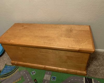 Wooden toy box!!!