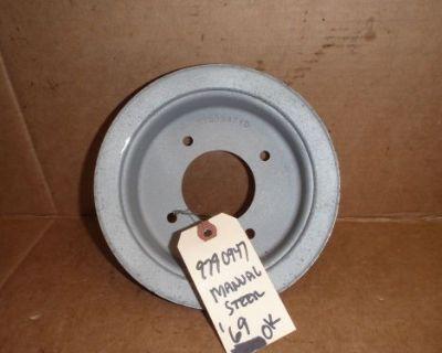 1969 Gto Manual Steering Crank Pulley 9790947 Gto Firebird Pontiac Lemans