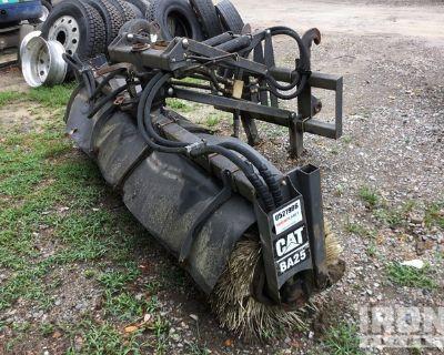 Cat BA25 96 in. Wheel Loader / Backhoe Loader Broom Attachment