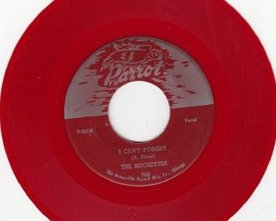 ROCKETTES ~ I Can't Forget*Mint-45*RARE RED WAX !