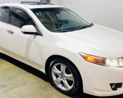 Used 2010 Acura TSX 5-speed AT