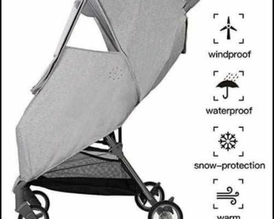 New in package - Stroller cover wind/ rain / snow - universal fit