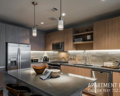 Luxury living apartment in Downtown Houston one month free