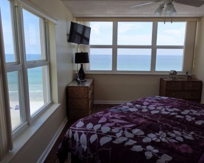 Direct ocean front North corner unit 601 Southpoint 2b/2ba /6th floor/wifi - Ponce Inlet