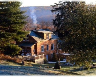 Serenity Falls Charming home w/ 8ft stone wood burning fireplace & mtn views - Rockwood