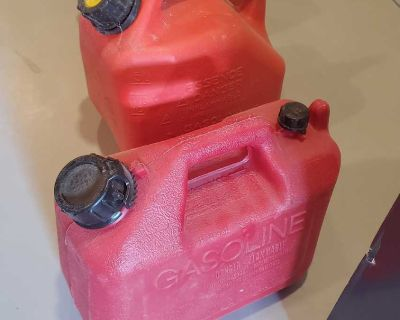 5L small Jerry gas cans