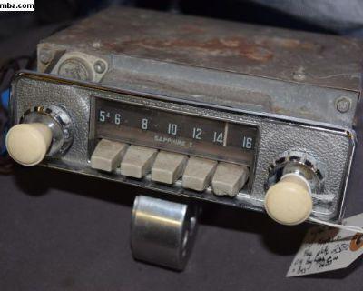 VW Bug Sapphire 1 Am Radio