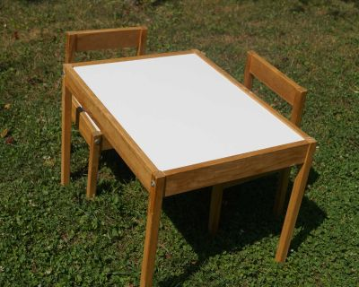 Child's Table with Two (2) Chairs