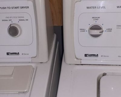 Washer and Matching Dryer for Sale