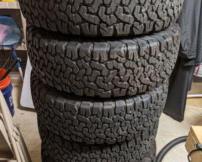 Virginia - JLUR Stock Wheels and BFG KO2 Tires for Sale (Set of 5)