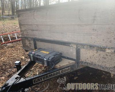 FS 10k Gatormade 16 utility trailer