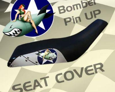 Yamaha Yfm350 Er Moto4 87-95 Bomber Pin Up Seat Cover #obm19123 Emp11133