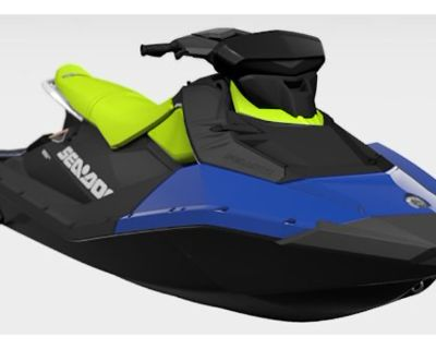 2021 Sea-Doo Spark 3up 90 hp iBR, Convenience Package + Sound System PWC 3 Seater Amarillo, TX