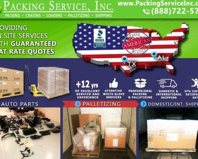 Packing Service, Inc. Professional Shipping and Packing Boxes - Corpus Christi, Texas
