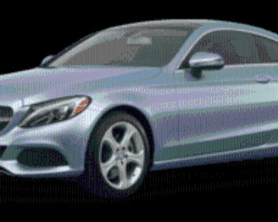 2017 Mercedes-Benz C-Class C 300 Coupe RWD