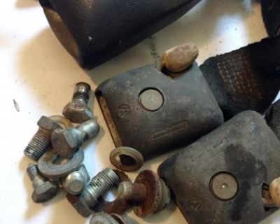 Seat belt receivers and misc hardware type 3