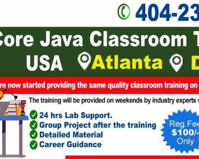 Java Classroom Training in Atlanta, USA - Naresh IT