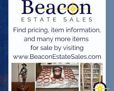 INCREDIBLE WELLESLEY ESTATE SALE - Online and In-Person