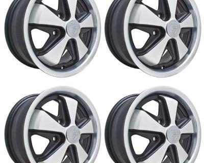 Empi 9727 porsche 911 wheels gloss black