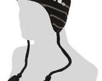 New Arctic Cat Striped With Tassels Beanie Hat