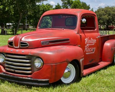 1948 Ford F1 2-door All-Steel Barn Find Pickup Restored Truck V8 Engine Swap