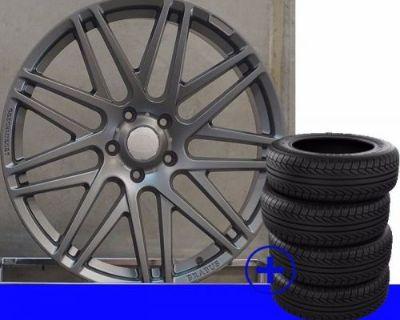 "22"" Mercedes G Wagon G63 Brabus Rims G Class G300 G400 G500 G550 G55wheels/tires"